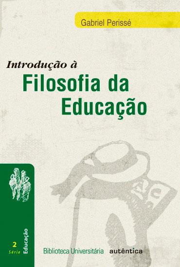 Introdução à Filosofia da educação