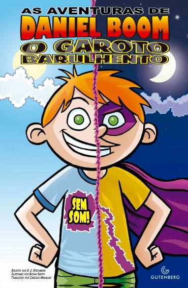 As aventuras de Daniel Boom - O garoto barulhento: sem som!