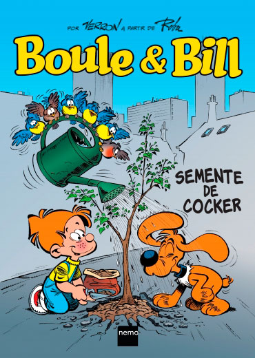 Boule & Bill - Semente de Cocker