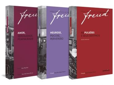 Freud - Kit Obras fundamentais – Vol. 3
