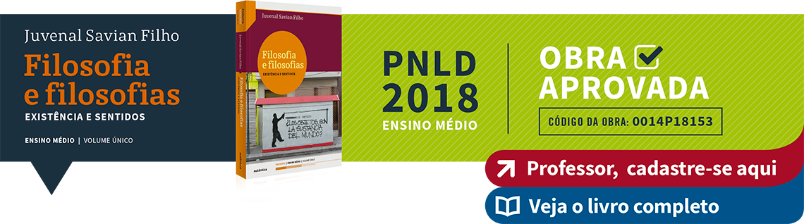 PNLD 2018. Ensino Médio. Filosofias e filosofia. Obra Aprovada.