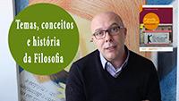 Temas, conceitos e história da filosofia
